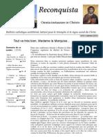 Reconquista 3 Mars 2014
