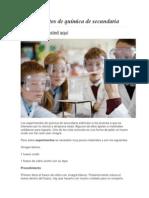 Experimentos de Química de Secundaria - Copia