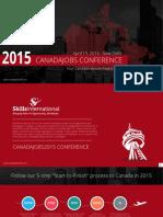 CanadaJobs2015 Brochure