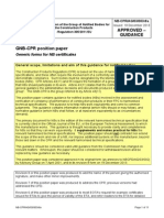 NB-CPR AG 03 003r8a - Generic Forms for GNB-CPR Certificates - For Translation