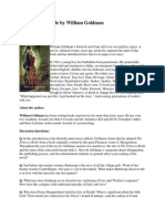 The Princess Bride by William Goldman - Discussion Questions