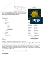 Safflower - Wikipedia, The Free Encyclopedia
