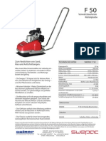 SWEPAC - Bodenverdichtung, Datenblatter