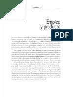 Empleo y Producto