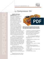 Swepco 702 Rotary Compressor Oil Sales Brochure j03774