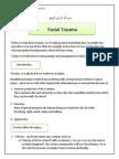 Oral Surgery Script 1 Facial Trauma