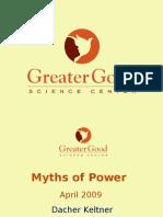 Myths of Power