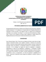 Providencia Administrativa Nº 048-2014 - Adecuación de Precios Justos - Arroz, Maiz y Café_1