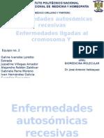 Enfermedades Recesivas y Ligadas Al Cromosoma y , Fibrosis Quistica