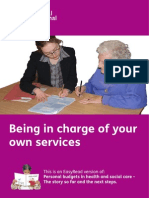 Being in Charge of Your Own Services EasyRead 03SEP14