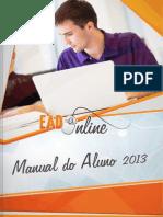 Manual Do Aluno Online 2013 2