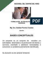 Diapositiva Del Curso de Formulaciòn de Proyectos de Inversiòn (P-1)