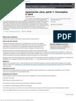 Introducción a la programación Java, parte 1_ Conceptos básicos del lenguaje Java.pdf