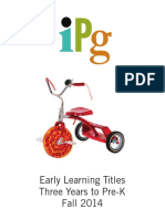 Fall 2014 IPG Early Learning 3 Years-PreK Titles