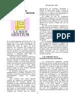 Lumen Gentium Historia