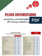 Planes Universitarios Claro