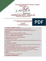 LAMPEA-Doc 2014 – numéro 28 / Vendredi 19 septembre 2014