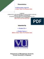 Final Dissertation Format