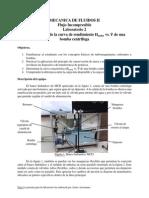 Lab. 2 (Curva de Rendimiento de Una Bomba Centrifuga, Hnet vs. Caudal)