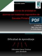 Congreso AASM 2013 Ansiedad