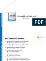 Corporate Bridge Financial Modeling eBook - Part 4