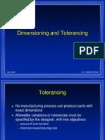LECT9- Dimen and Tolerancing