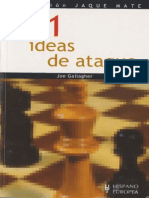 101 IDEAS DE ATAQUE EN AJEDREZ - Joe Gallagher.pdf