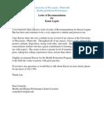 letter of rec  pam c