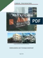 Demolishing South Beach History