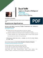 David Vallee CV Détaillé AE