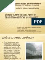 Cambio climático Perú - Caballero Carrasco Roy - 09070155.pptx
