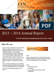 mcss annual report 2013-2014 working
