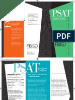 2014 PSAT Brochure