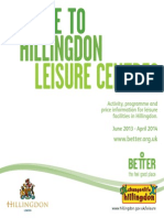 Hillingdon Leisure Guide