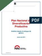Informe Propuestal Plan Nacional Diversificacion Productiva