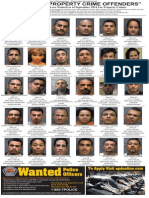 Most Wanted Property Crime Offenders, Sept. 2014