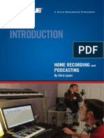 Basic Home Recording Podcasting