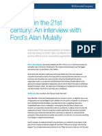 An Interview With Fords Alan Mulally
