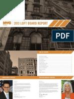 Loftboard Annual Report 2013