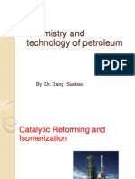Catalytic Reforming and Isomerization for Student