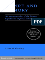 Alain M. Gowing-Empire and Memory_ The Representation of the Roman Republic in Imperial Culture (Roman Literature and its Contexts) (2005).pdf