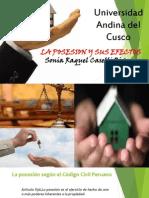 La Posesion y Sus Efectos - Derecho Civil III