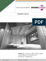 Tarifa 2012STRONG. Lluminàries i Motors