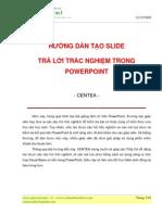Huong Dan Tao Slide Tra Loi Trac Nghiem