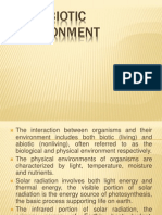 Chapter 4 the Abiotic Environment (Ecology)