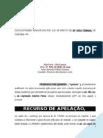 Apelacao Penal Criminal Trafico Drogas Associacao Entorpecentes Desclassificacao Preliminar Indubio Proreo Modelo 505 PN176