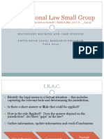Brief Research Small Group Fall 2014