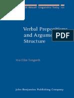 Mai Ellin Tungseth - Verbal Prepositions and Arguments