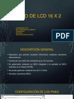 Manejo de Lcd 16 x 2