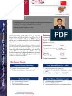Global Security Defense Index on Climate Change - China 2014